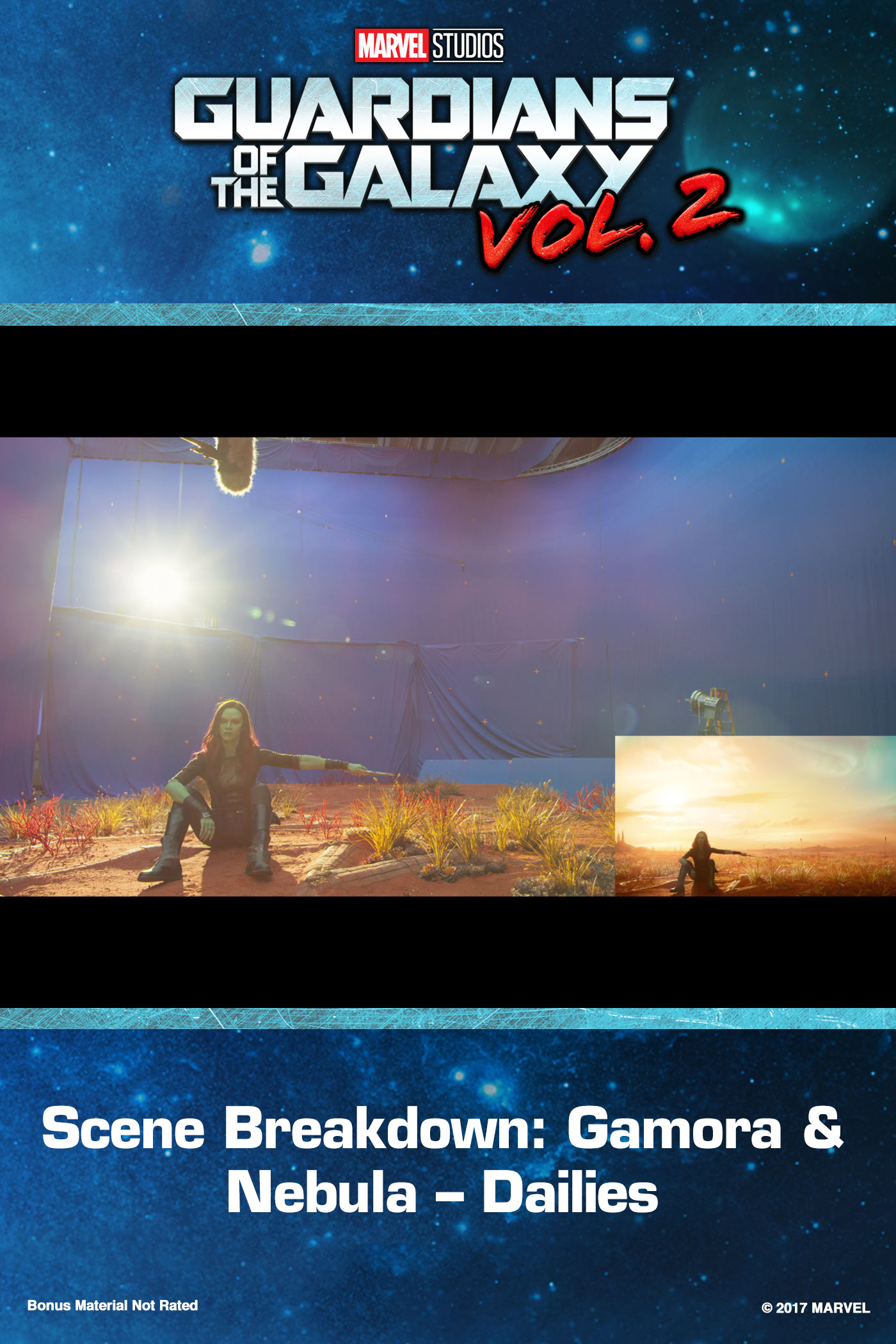 Scene Breakdown: Gamora & Nebula – Dailies