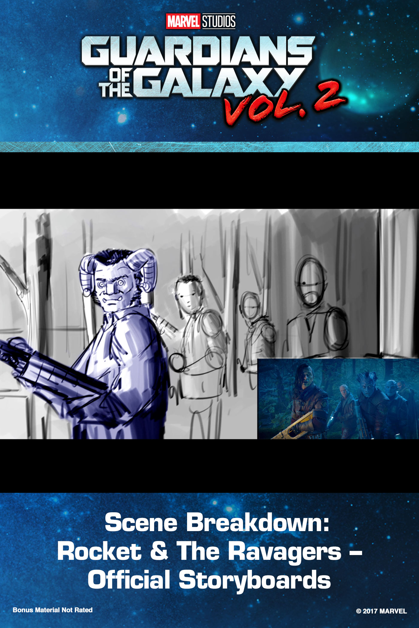 Scene Breakdown: Rocket & The Ravagers – Official Storyboards